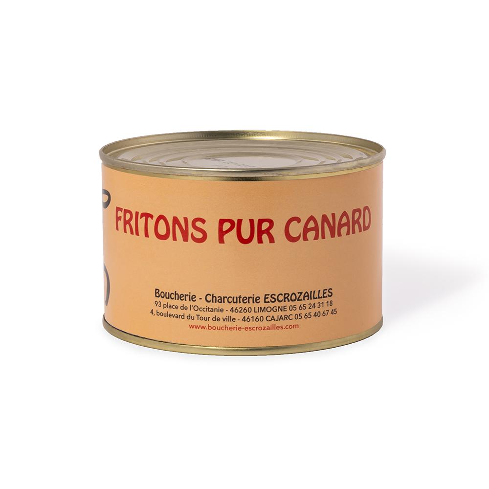 Fritons Pur Canard 400g