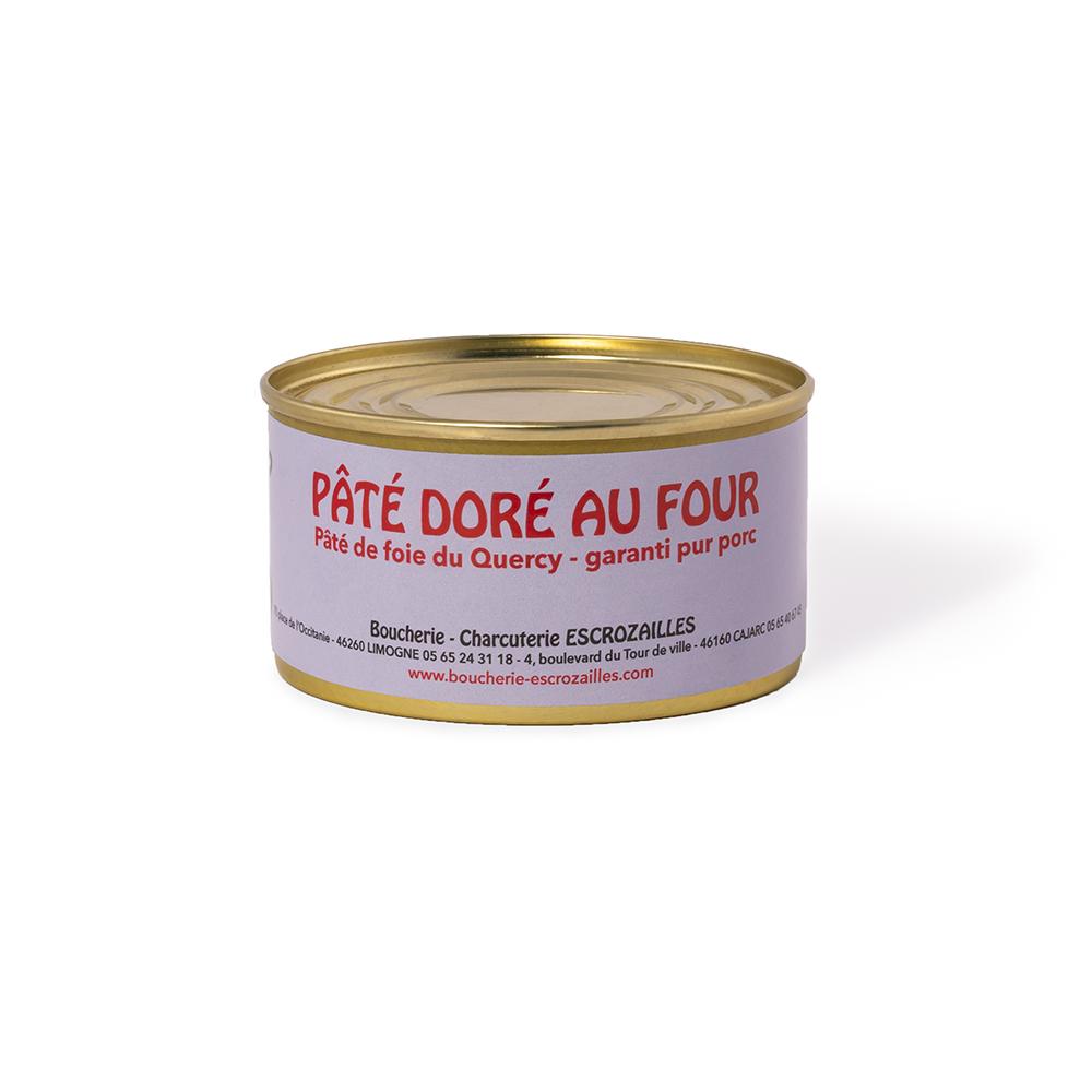 Pâté de Foie du Quercy Doré au Four 200g