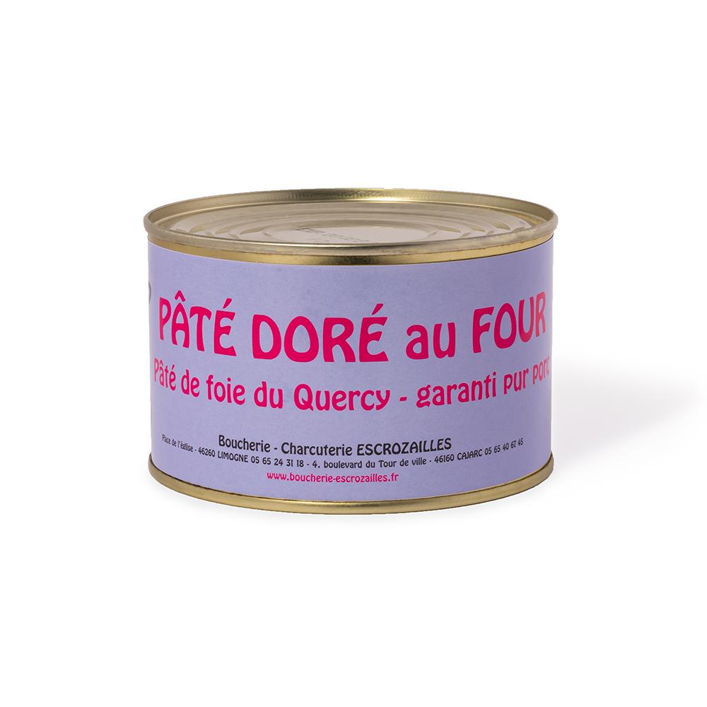 Pâté de Foie du Quercy Doré au Four 400g